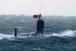 Nhân viên phà Đài Loan choáng váng khi thấy tàu ngầm Trung Quốc nổi lên giữa biển