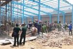Sập tường công trình đang thi công, ít nhất 5 người chết