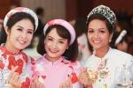 Hoa hậu H'Hen Niê làm người mẫu cho bộ sưu tập áo dài của Ngọc Hân