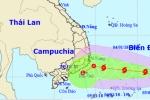 Biển Đông đón cơn bão đầu tiên trong năm 2018