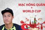 Mạc Hồng Quân tiết lộ bí quyết vừa xem World Cup vừa đá V-League
