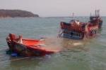 Chìm tàu cá, 2 thuyền viên mất tích trên biển Hải Phòng