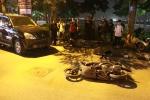 Ô tô Lexus tông gần chục xe trên phố Hà Nội: Xác định danh tính nữ tài xế say xỉn