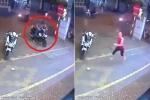 Thanh niên bảnh bao trộm xe máy trong tích tắc
