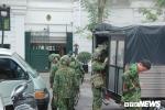 Anh: Cong binh kiem tra an ninh, do min o 2 khach san tung don Tong thong My tai Ha Noi hinh anh 12