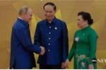Video: Chủ tịch nước bắt tay, đón Tổng thống Putin đến dự tiệc chiêu đãi APEC