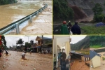 Toàn cảnh mưa lũ hoành hành ở miền Bắc, ít nhất 6 người thương vong