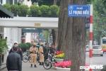 Anh: Cong binh kiem tra an ninh, do min o 2 khach san tung don Tong thong My tai Ha Noi hinh anh 14