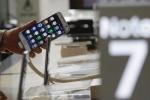 Sự cố Note 7 kéo cổ phiếu của Samsung rơi xuống 'vực sâu'