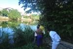 Phát hiện thi thể người đàn ông cởi trần, đeo dây chuyền nổi trên sông Đông Ba