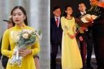 Điểm chung bất ngờ của những nữ sinh Việt xinh đẹp từng được gặp mặt Tổng thống Mỹ ở Việt Nam