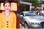 Xe Audi bị cẩu về phường, Hoa hậu Thu Hoài phải nộp phạt bao nhiêu tiền?