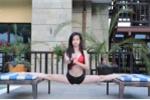 Hot girl Taekwondo mặc bikini, khoe vòng eo con kiến