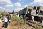 Tàu hỏa đâm nhau ở Ai Cập, hơn 70 người thương vong