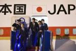Chuyên cơ Air Force One Nhật Bản đưa thủ tướng Shinzo Abe đến Đà Nẵng