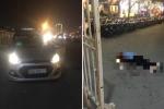 Nghi án tài xế taxi bị cứa cổ trước cổng Sân vận động Mỹ Đình
