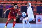 Thua đậm Iran, tuyển nữ Futsal Việt Nam đá tranh hạng 3 giải châu Á