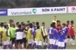 Cầu thủ U19 Đông Timor đấm cầu thủ Malaysia gục tại chỗ