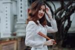 Hot girl Đại học Kiểm sát xinh đẹp nhớ kỷ niệm cha cõng đi chơi dịp Tết