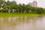 Bão số 3 Thần Sét quét qua, sông Tô Lịch bỗng hóa 'nàng tiên' đẹp ngỡ ngàng