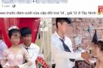 Sự thật đám cưới chú rể 14 tuổi, cô dâu 12 tuổi ở Tây Ninh