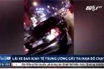 Clip lái xe Ban kinh tế Trung ương uống rượu bia, gây tai nạn rồi bỏ chạy