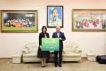 Vietcombank trao số tiền 1 tỷ đồng tặng đội tuyển bóng đá U23 Việt Nam