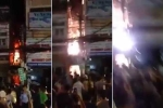 Clip: Cháy nổ dữ dội ở phố Tây Sài Gòn, nhiều người hoảng loạn