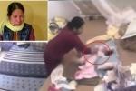 Khởi tố người giúp việc bạo hành bé hơn 1 tháng tuổi ở Hà Nam