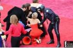 Jennifer Lawrence lại vồ ếch trên thảm đỏ Oscar 2014