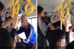 Không muốn nhường ghế, cô gái đạp mặt cụ già trên xe bus gây phẫn nộ