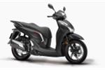 Honda SH300i có thêm bản thể thao, màu xám đen, giá 249 triệu đồng