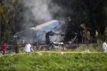 Cuba công bố số nạn nhân thiệt mạng trong vụ rơi máy bay thảm khốc
