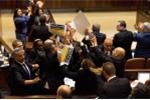 Video: Ẩu đả giữa Quốc hội Israel sau phát biểu của Phó Tổng thống Mỹ