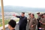 Anh: Ong Kim Jong-un tich cuc thi sat nhieu noi phia Dong bac Trieu Tien hinh anh 15