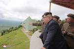 Anh: Ong Kim Jong-un tich cuc thi sat nhieu noi phia Dong bac Trieu Tien hinh anh 14