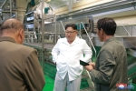 Anh: Ong Kim Jong-un tich cuc thi sat nhieu noi phia Dong bac Trieu Tien hinh anh 10