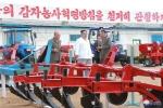 Anh: Ong Kim Jong-un tich cuc thi sat nhieu noi phia Dong bac Trieu Tien hinh anh 6