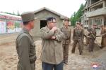 Anh: Ong Kim Jong-un tich cuc thi sat nhieu noi phia Dong bac Trieu Tien hinh anh 19
