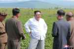 Anh: Ong Kim Jong-un tich cuc thi sat nhieu noi phia Dong bac Trieu Tien hinh anh 2