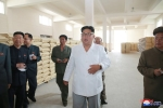 Anh: Ong Kim Jong-un tich cuc thi sat nhieu noi phia Dong bac Trieu Tien hinh anh 11