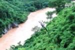 Video: Lật thuyền trên sông Mã, 2 người mất tích