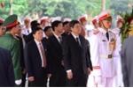 Lãnh đạo Đài Tiếng nói Việt Nam viếng nguyên Tổng Bí thư Đỗ Mười