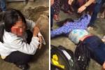 Nghi bắt cóc trẻ em ở Hà Nội, 2 người phụ nữ bị dân đánh chảy máu đầu, ngất xỉu