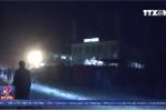 Video: Hiện trường vụ tấn công bằng rocket gần trụ sở NATO ở Afghanistan