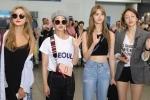 Nhóm nhạc Hàn EXID khiến sân bay 'vỡ trận' khi sang Việt Nam