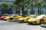 Video: Choáng ngợp trước dàn siêu xe cả trăm tỷ đồng tại Hà Nội