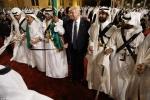 Công du Ả rập Xê Út, Tổng thống Donald Trump nhảy điệu múa kiếm