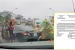 Ủy ban An toàn giao thông Quốc gia đề nghị xử lý nữ tài xế quay đầu xe trên cầu