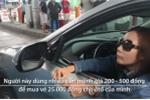 Nữ tài xế trả tiền lẻ qua trạm BOT Cai Lậy trong nửa tiếng